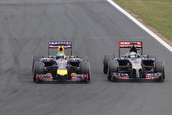 Sebastian Vettel, Red Bull Racing e Jean-Eric Vergne, Scuderia Toro Rosso