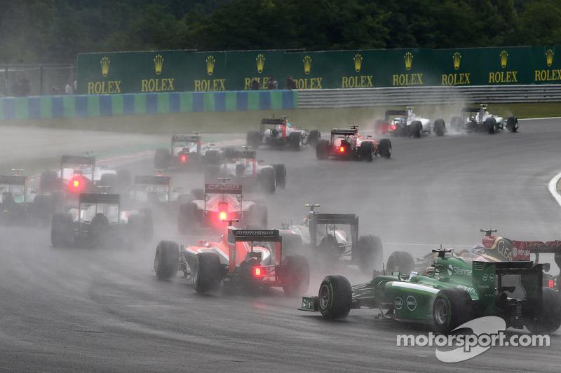Rennstart: Max Chilton, Marussia F1 Team