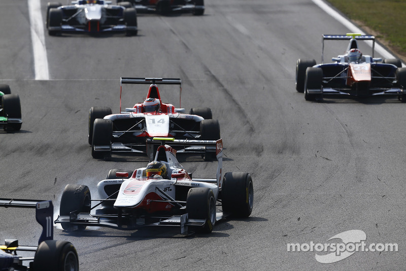Marvin Kirchhofer A Hungaroring Gp3 Foto