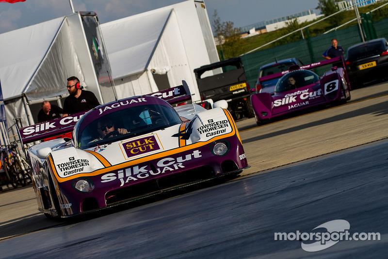 #4 Jaguar XJR8: Christophe D'Ansembourg, Herve Regout