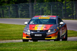#72 Compass360 Racing Honda Civic Si: Ron Yarab