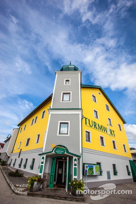 Um tradicional hotel austríaco
