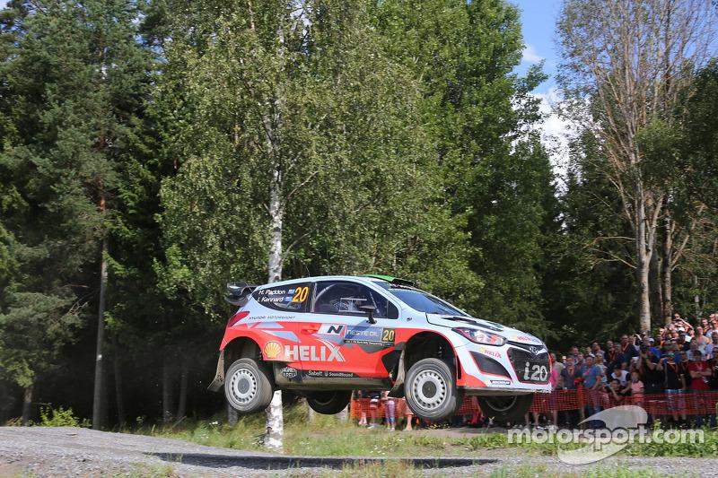 Hayden Paddon e John Kennard, Hyundai i20 WRC, Hyundai Motorsport
