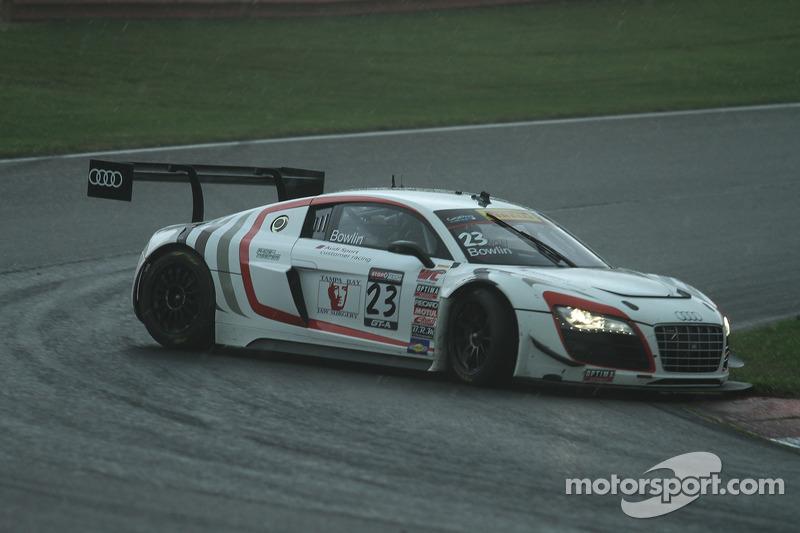 Walt Bowlin, Audi R8 va in testacoda