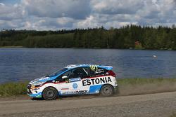 Sander Parn and James Morgan, Ford Fiesta R2