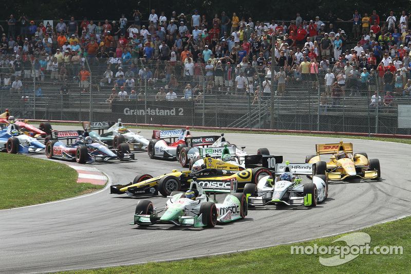 Tony Kanaan, Chip Ganassi Racing Chevrolet, testacoda