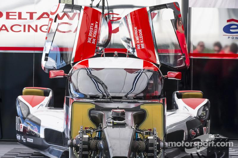 #0 DeltaWing 赛车 DeltaWing LM12: 安迪·梅里克, 卡瑟琳·莱格
