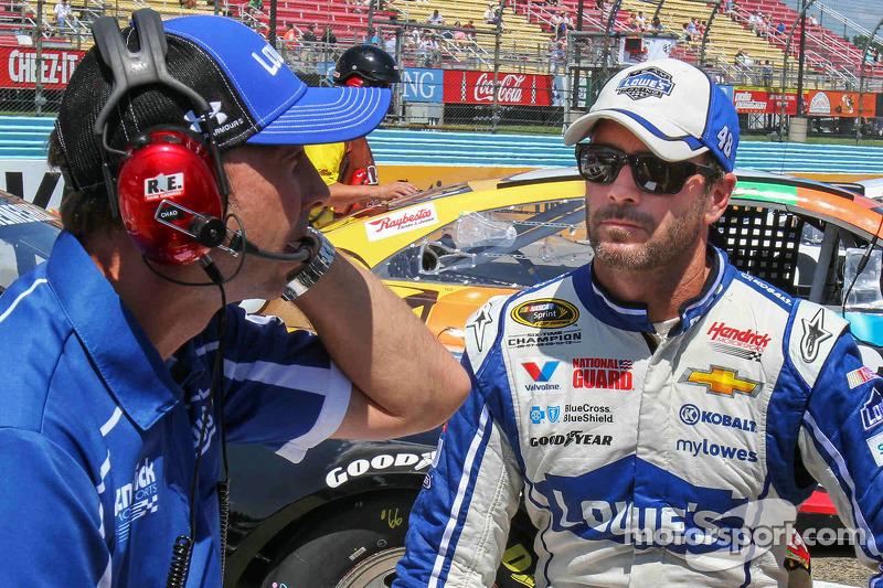 Jimmie Johnson, Hendrick Motorsports Chevrolet e Chad Knaus