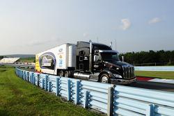 FrontRow Motorsports hauler