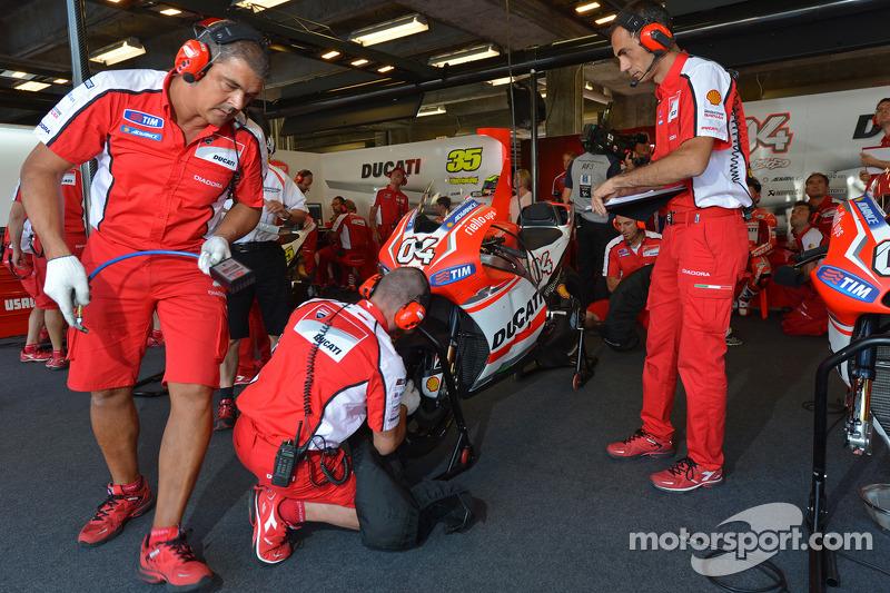 Ducati garajı