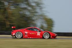 #62 Risi Competizione Ferrari F458: Giancarlo Fisichella, Pierre Kaffer
