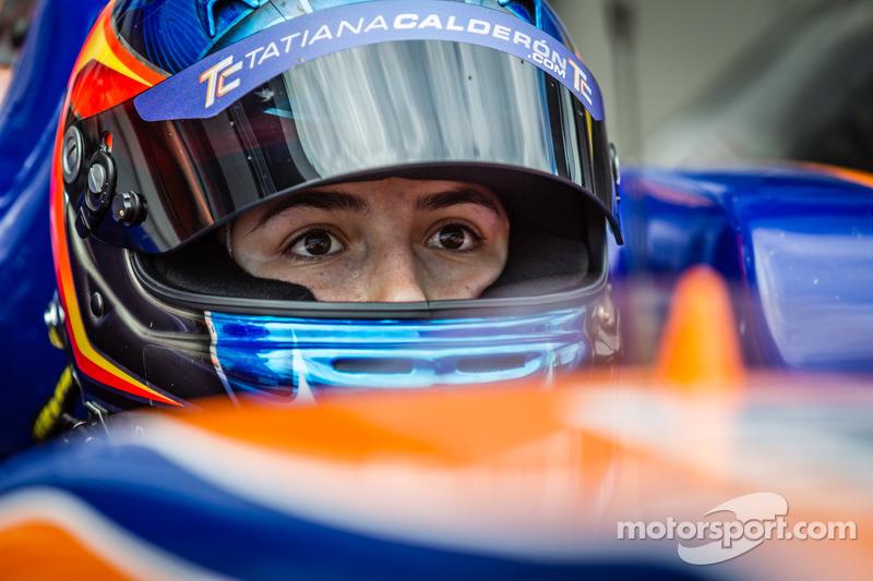 Tatiana Calderon, Jo Zeller Dallara F312 da corsa - Mercedes