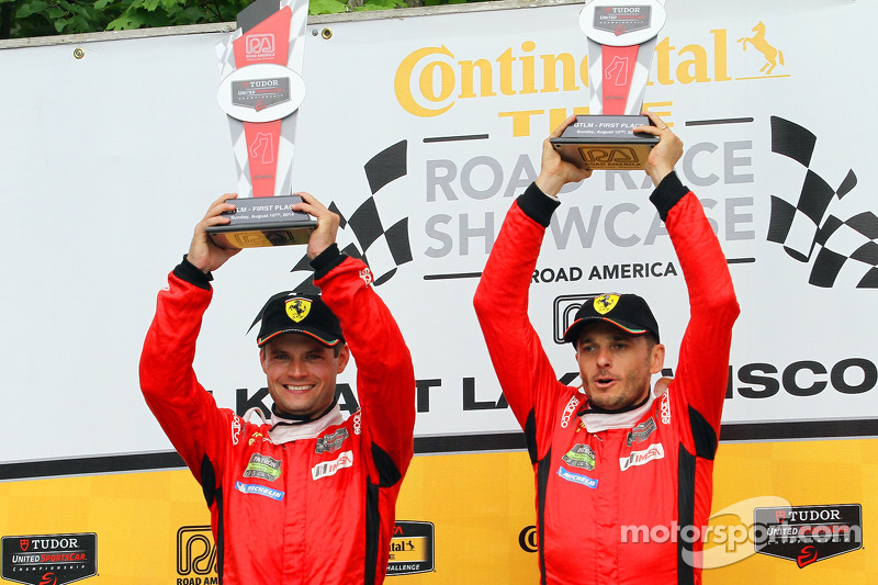 GTLM Podyum: Kazananlar Pierre Kaffer, Giancarlo Fisichella