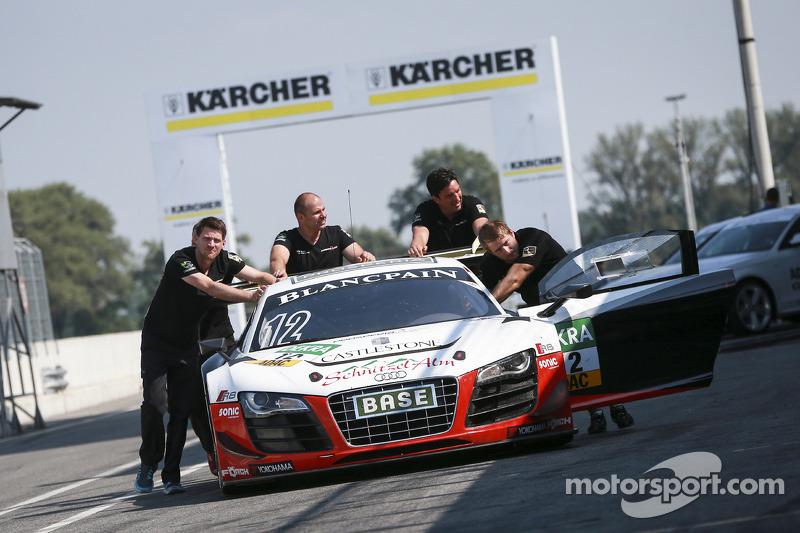 #12 Prosperia C. Abt Racing 奥迪 R8 LMS ultra: 马库斯·温克霍克, 尼基·迈尔-梅尔尼霍夫