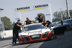#12 Prosperia C. Abt Racing Audi R8 LMS ultra: Markus Winkelhock, Niki Mayr-Melnhof