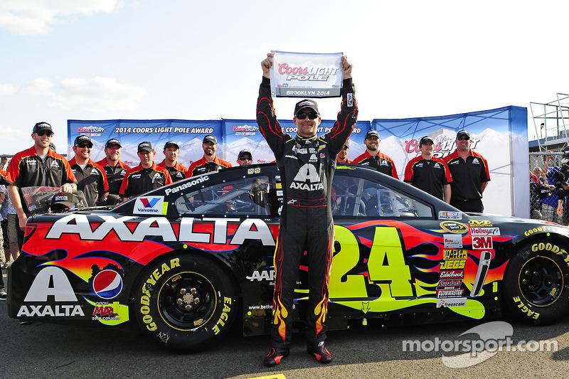 2014: Jeff Gordon (Hendrick-Chevrolet) mit 34,857 Sekunden