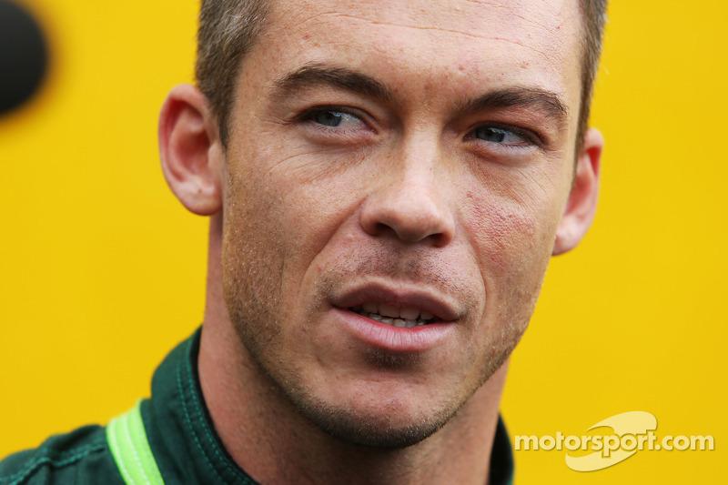 Andre Lotterer, Caterham F1 Team.