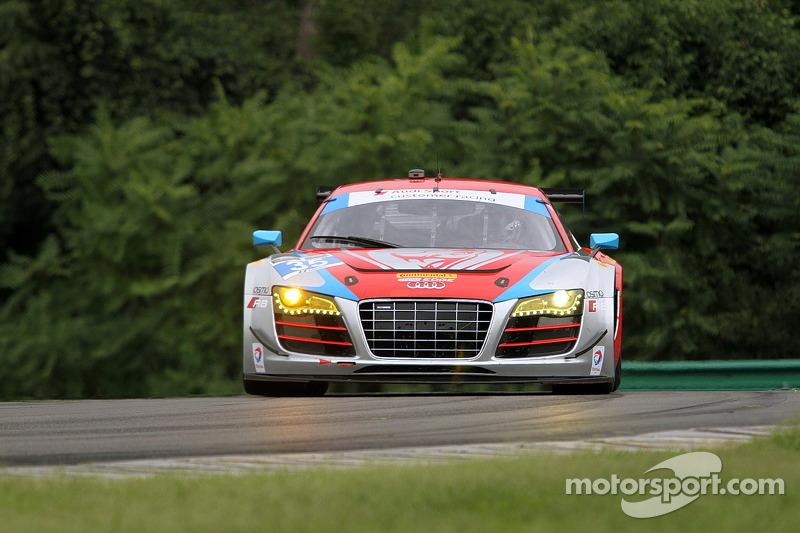 #35 Flying Lizard Motorsports 奥迪 R8 LMS: 赛斯·奈曼, 迪翁·冯莫尔特克