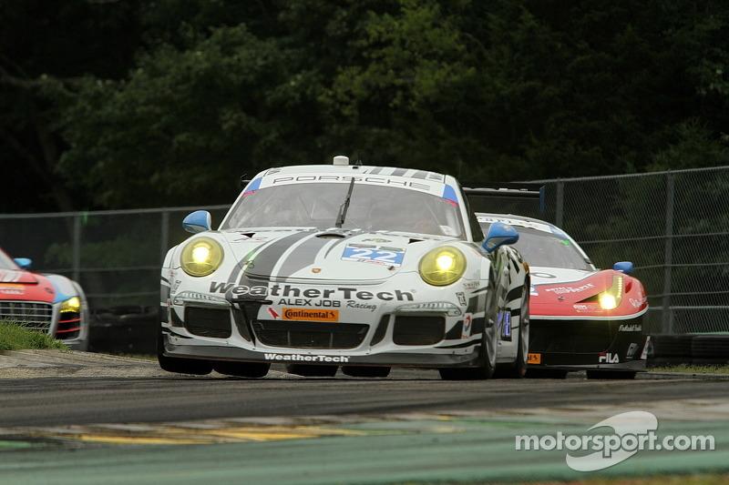 #22 Alex Job Racing Porsche 911 GT America: Cooper MacNeil, Leh Keen