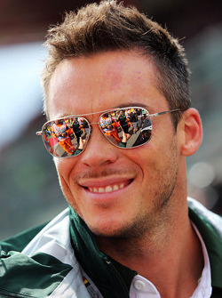 Andre Lotterer, Caterham F1 Team on the drivers parade
