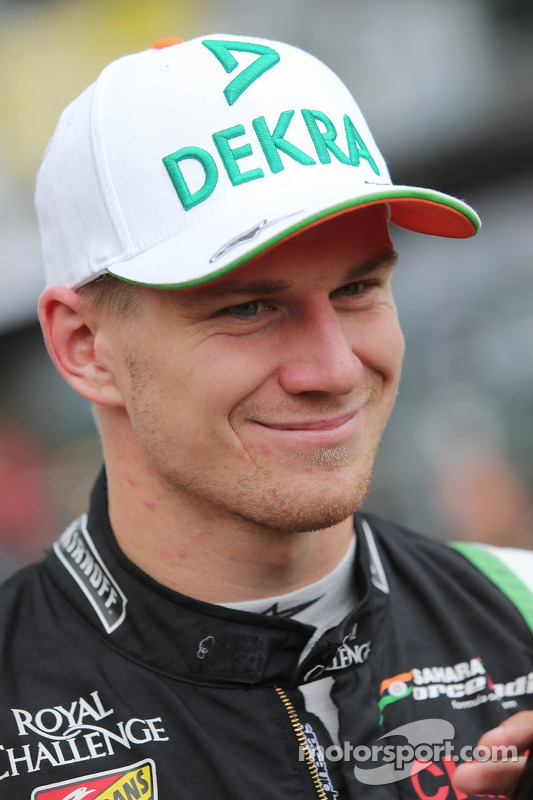 Nico Hulkenberg, Sahara Force India F1, no grid