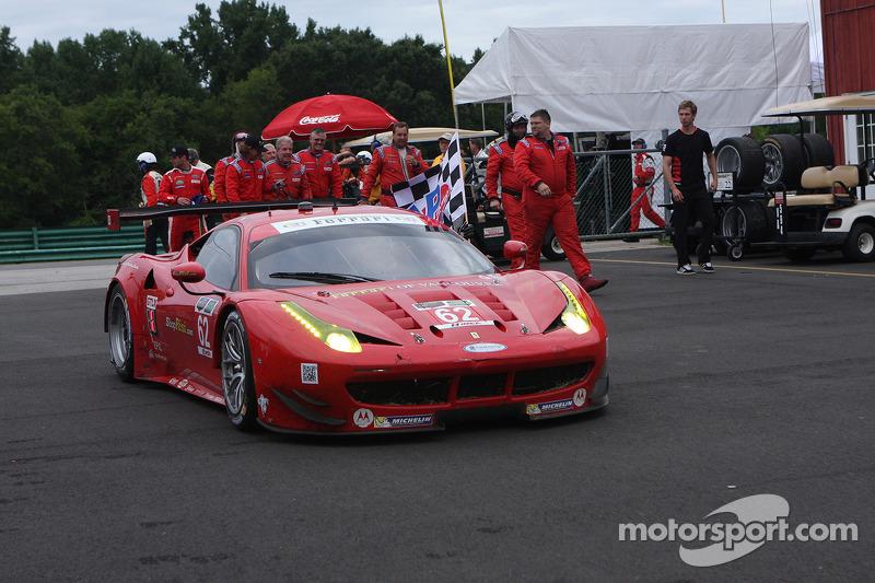 Vincitori - #62 Risi Competizione Ferrari F458: Giancarlo Fisichella, Pierre Kaffer