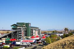 Sonoma Race track paddock
