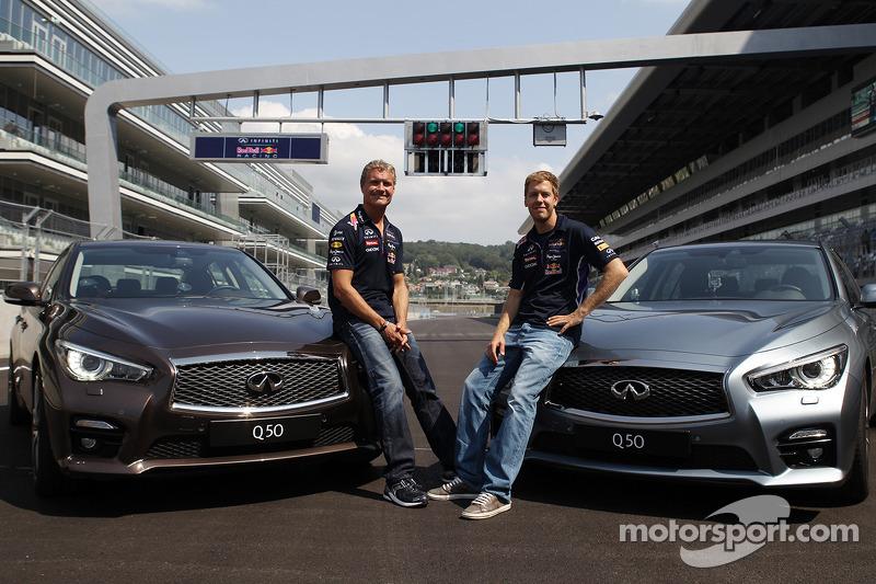 David Coulthard ve Sebastian Vettel