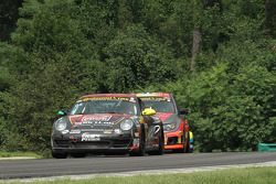 #08 Rebel Rock Racing 保时捷 卡雷拉: 凯利·马尔切利, 马丁·巴基