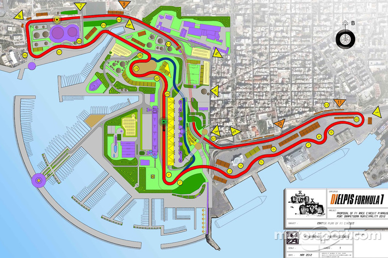 Plans for an F1 circuit near Athens, Greece