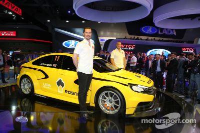 LADA unveils new WTCC car