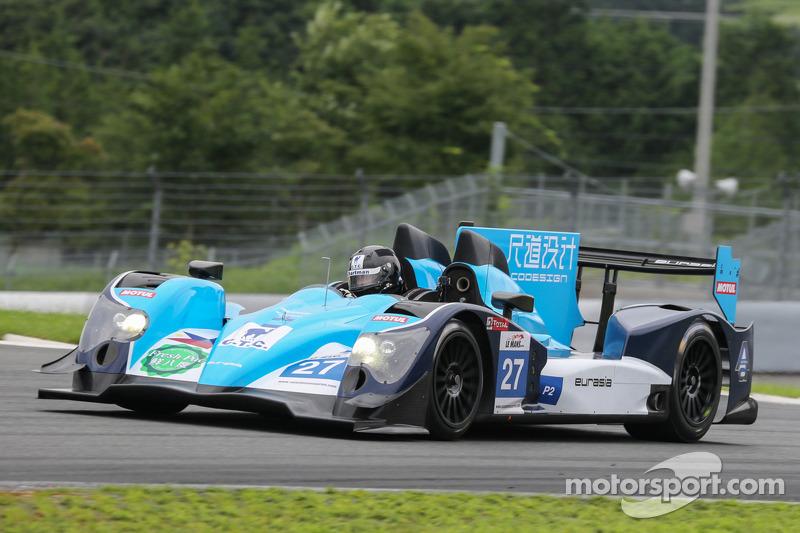 #27 Eurasia Motorsport Oreca-日产: 蒲俊锦, 约翰·哈茨霍恩, 理查德·布拉德利