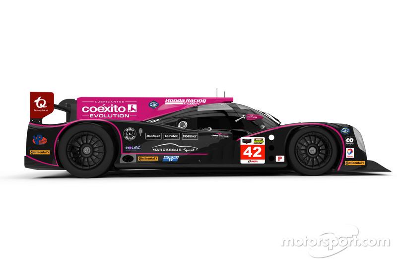Ligier JS P2-HPD команды OAK Racing