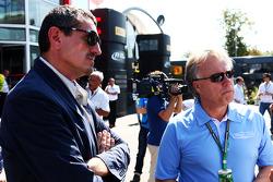 Günther Steiner, Haas F1, Teamchef; Gene Haas, Haas Automation, Präsident