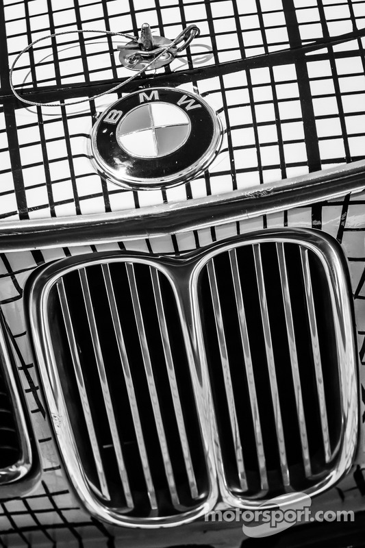 Detalhe do 1976 BMW Art Car por Frank Stella