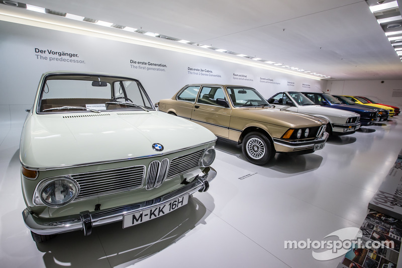 1966 BMW 1600 and BMW 3 Series at Visit of BMW Museum, Munich