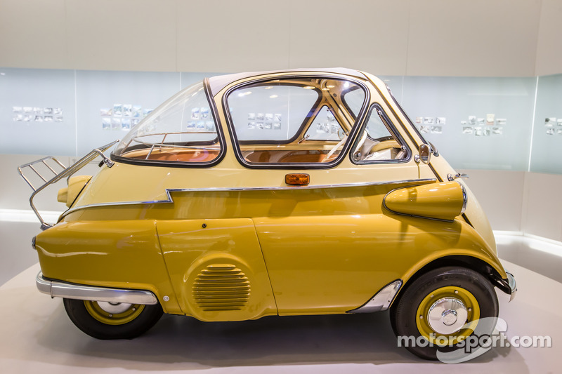 1955 BMW Isetta at Visit of BMW Museum, Munich