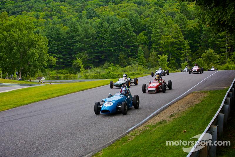 Formula Junior, giro di formazione
