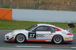 #17 Ruffier Racing Porsche 997 Kupası: Patrice Lafargue, Paul Lafargue, Gabriel Abgergel, Franck Racinet