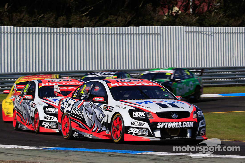 Garth Tander ve Warren Luff, Holden Racing Takımı