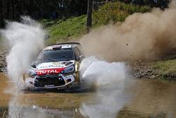 克里斯·米克和保罗·纳格尔,雪铁龙DS3 WRC,雪铁龙道达尔阿布扎比世界拉力车队