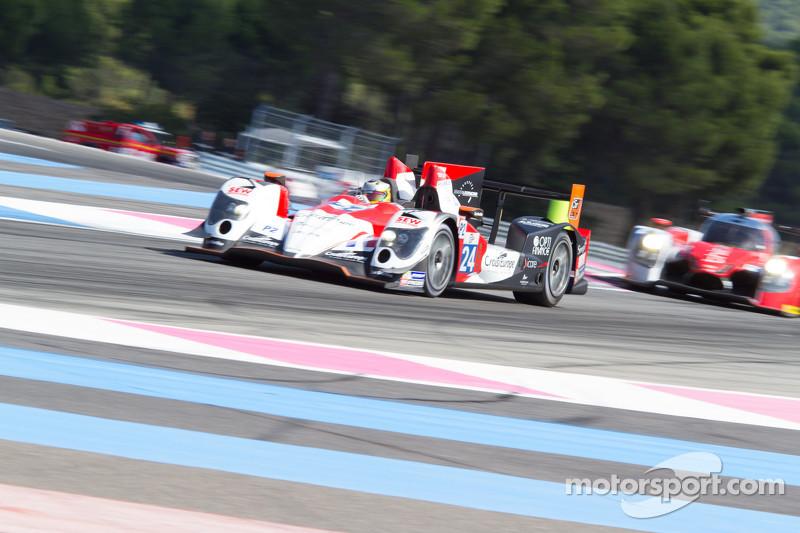 #24 Sébastien Loeb Racing Oreca 03 Nissan: Andrea Roda, Arthur Pic, Vincent Capillaire