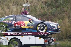 Voiture de Mattias Ekström, Audi Sport Team Abt Sportsline, Audi A5 DTM