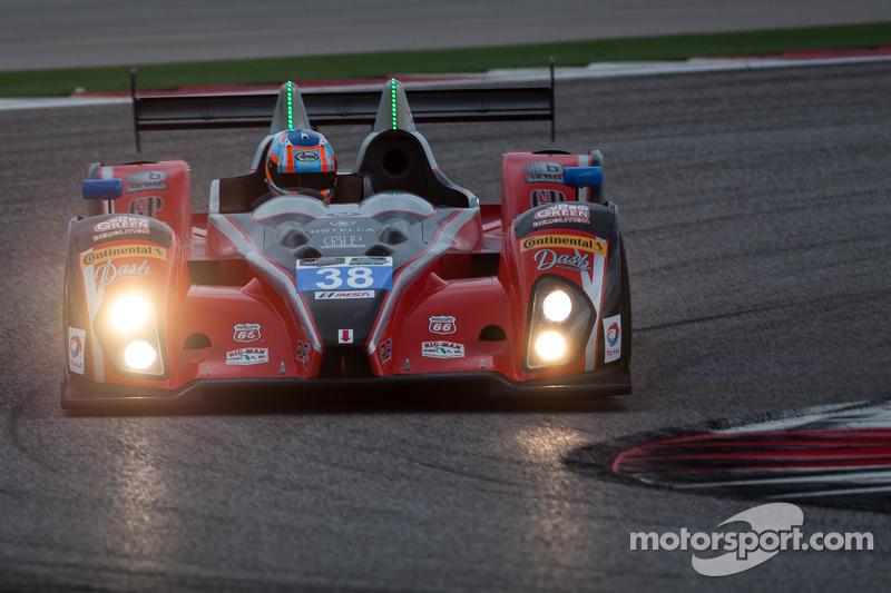 #38 Performance Tech Motorsports ORECA FLM09: 大卫·奥斯特拉, 詹姆斯·弗兰奇