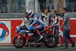 Vainqueurs: #1 Suzuki: Vincent Philippe, Anthony Delhalle, Erwan Nigon