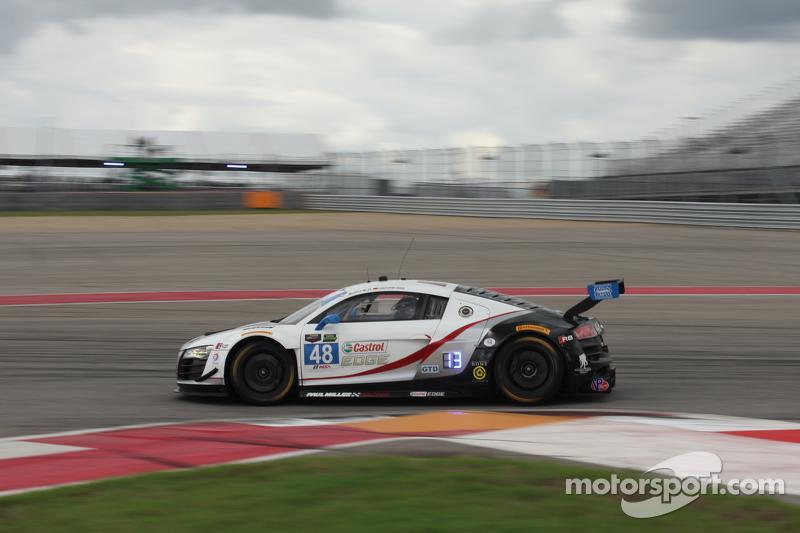 #48 Paul Miller Racing 奥迪 R8 LMS: 克里斯托弗·哈斯, 布赖斯·米勒