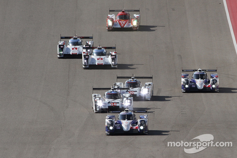 Via: #8 Toyota Racing Toyota TS040-Hybrid: Anthony Davidson, Nicolas Lapierre, Sebastien Buemi al co