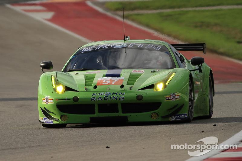 #57 Krohn Racing 法拉利 F458 Italia: 特雷西·克龙, 尼克·琼森, 本·科林斯