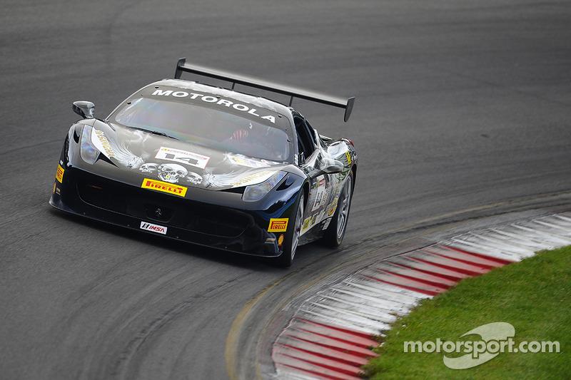 #14 Ferrari of Newport Beach 法拉利 458: 布伦特·劳伦斯