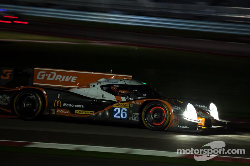 #26 G-Drive Racing Ligier JS PS - 日产: 罗曼·鲁斯诺夫, 奥利弗·普拉, 朱利安·卡纳尔